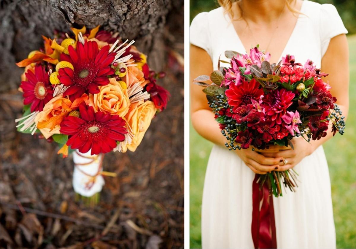 три свадебные букеты для невесты осенние фото казанца изъяли