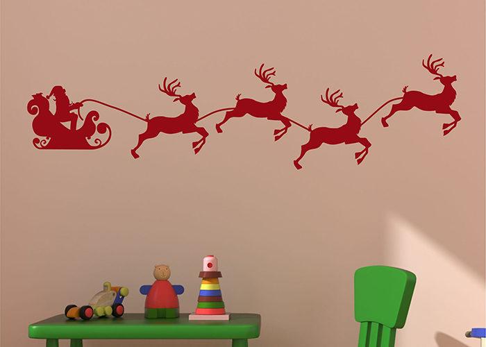Олени новогодние картинки на стену
