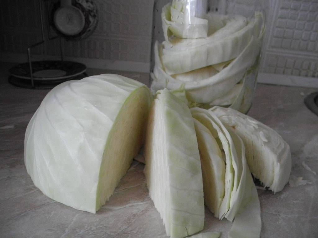 Капуста с яблочным уксусом рецепт быстрого приготовления