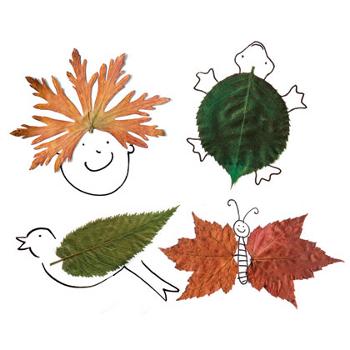 Pájaro de hojas secas. Jarrón original de las hojas a la exposición ...