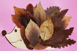 Поделки из листьев или природного материала 32