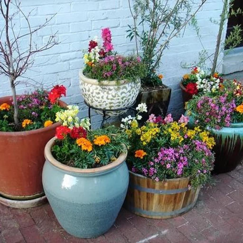 Çiçek yatağı - bahçeniz için orijinal ev yapımı süsleme