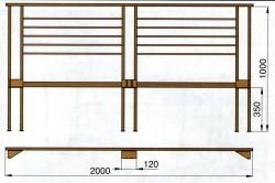 чертёж металлической кровати металлическая кровать своими руками
